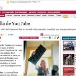 En Público, hablando sobre YouTube con Delia Rodríguez